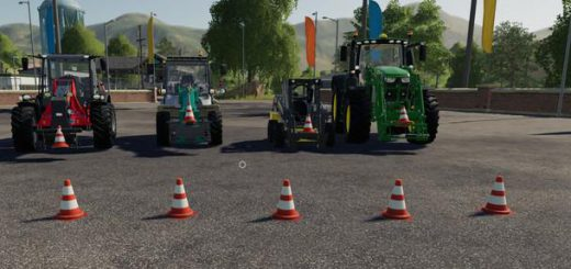 Movable traffic pylon v 1.0