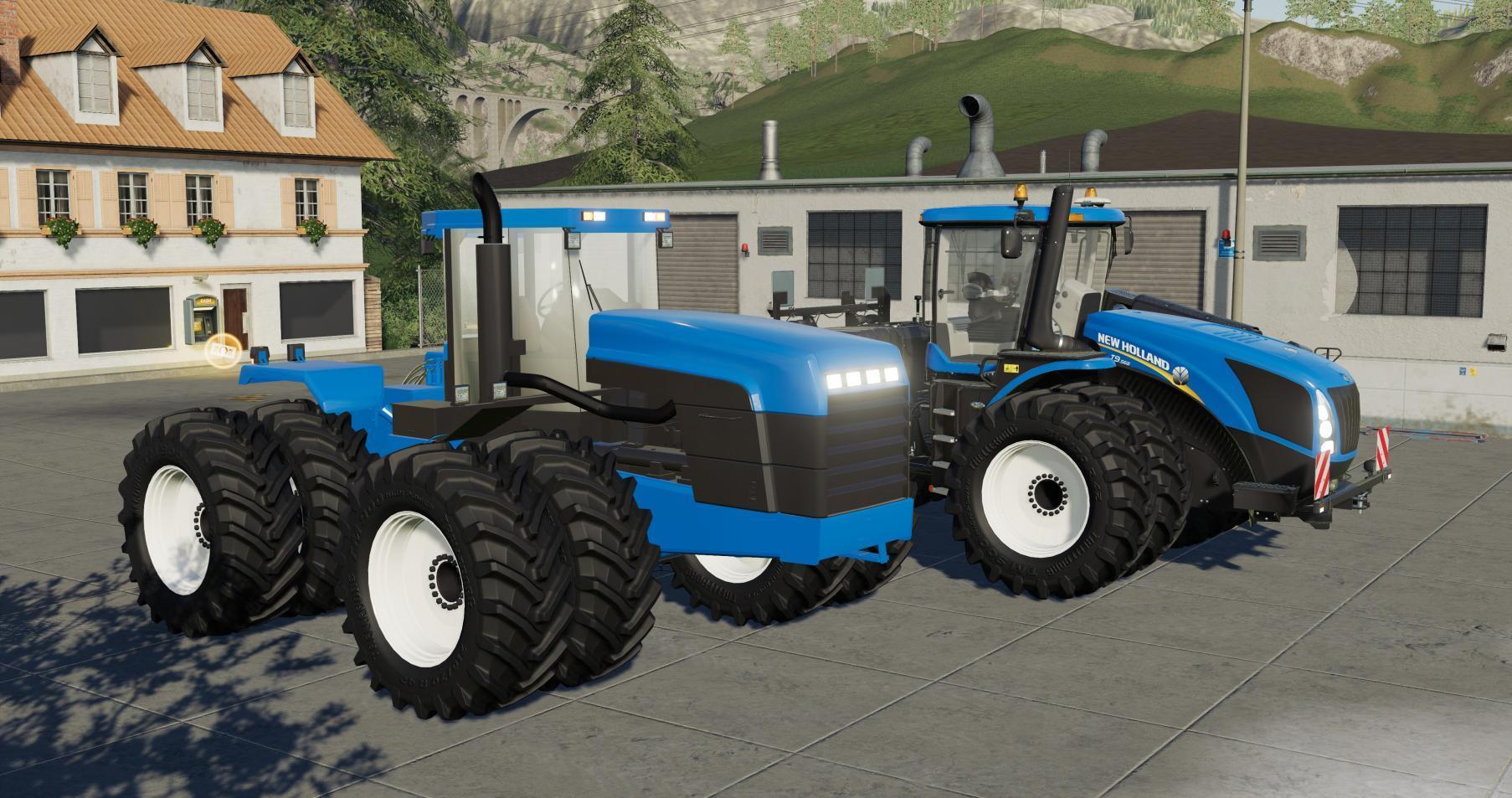 New Holland 9822 v 1.0