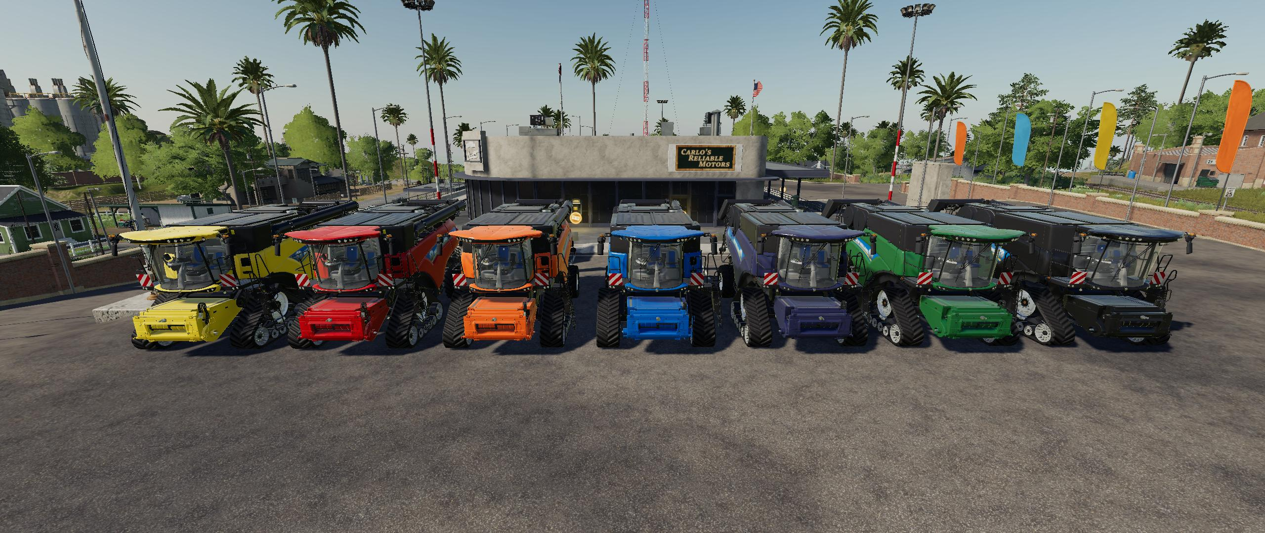 New Holland CR10.90 Pack By Gamling v 1.0
