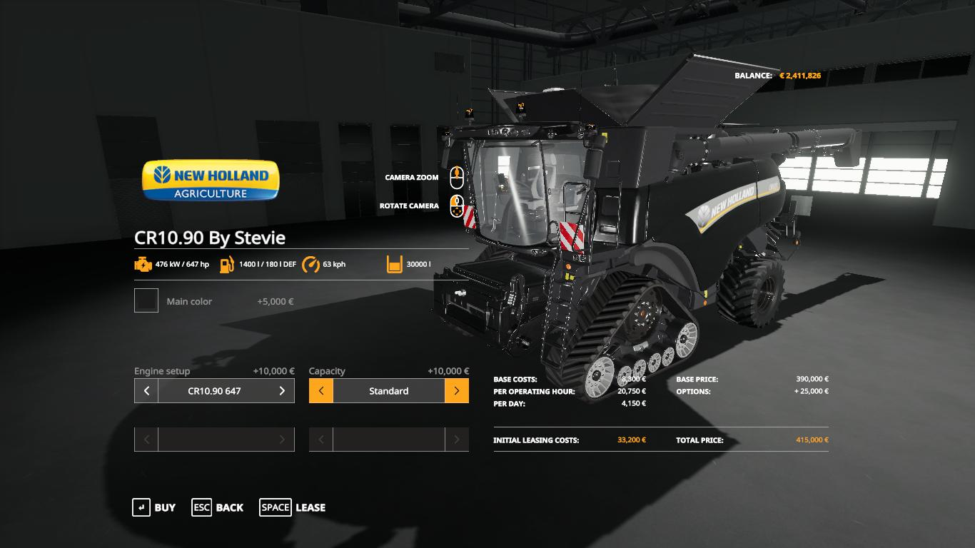 New Holland CR1090 by Stevie