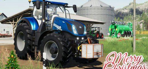 New Holland T7 Heavy Duty Blue Power v 1.1