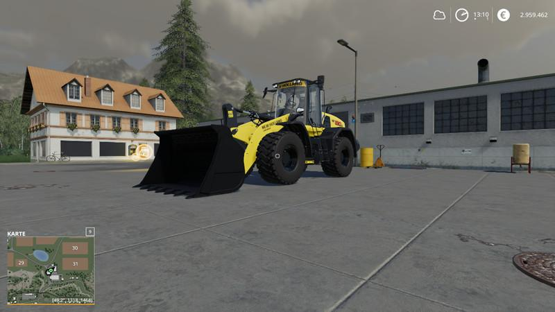 New Holland W190D MultiColor v 1.0
