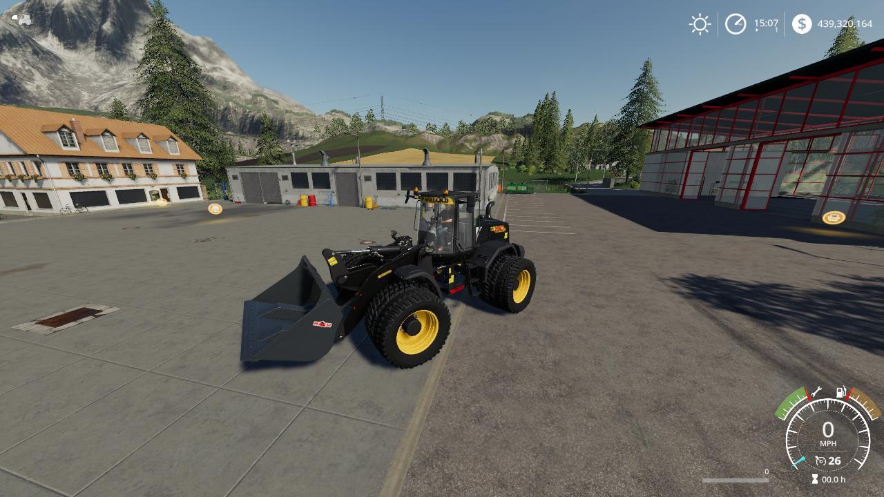New Holland Wheel Loader W190D VE v 1.0