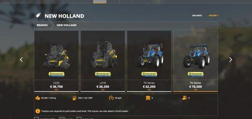New Holland tractors v 1.0.0.2