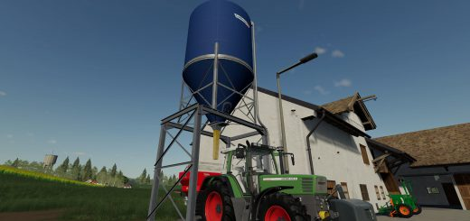 Placable fertilizer silo v 1.0
