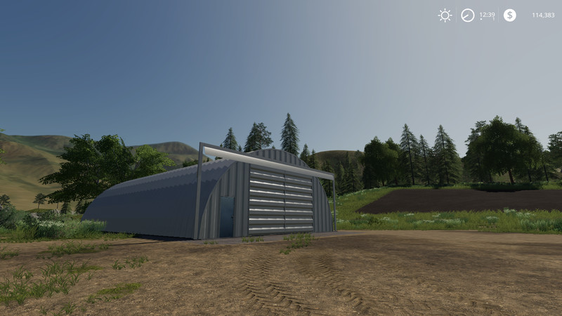 Placeable Quonset Shed v 1.0