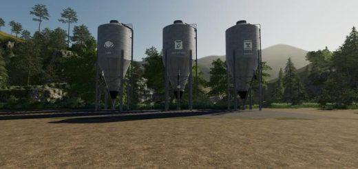 Placeable Seed Fertilizer Food Stations v 1.0
