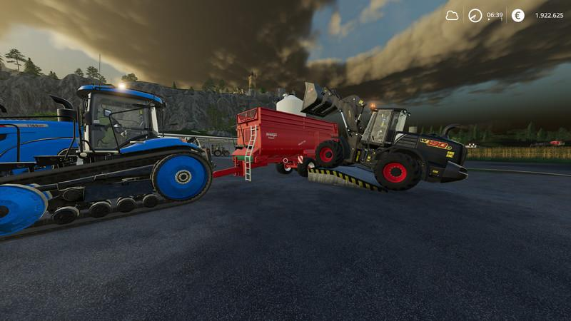 Placeable loading ramp v 1.0