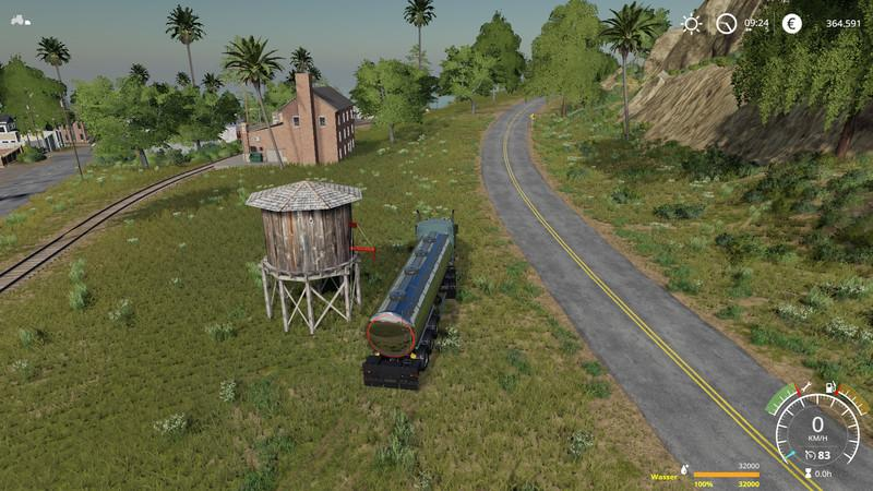 Placeable water tower v 1.0