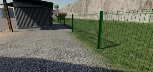 Plain metal fence v 1.0