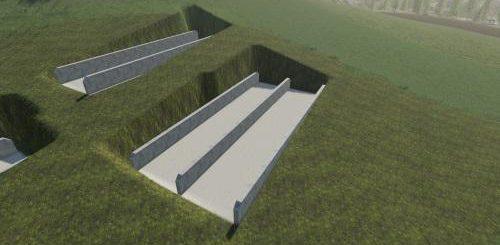 Platzierbare Bunkersilos Less Leveling v 1.0