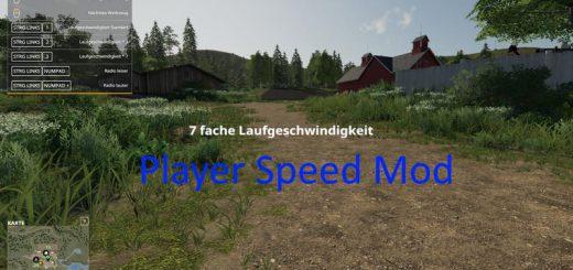 Player speed mod v 1.0