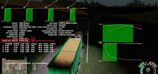 Realistische Ladegewichte (Filltype mass Adjustment) v 1.0