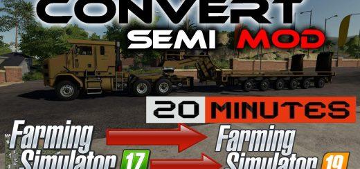 Semi truck template for modders v1.0