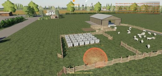 Sheep fold with more pallet space v 1.0