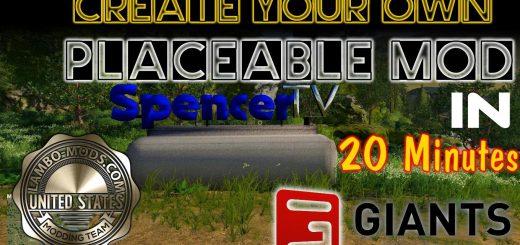 SpencerTV Placeable Sign - tutorial included v 1.0