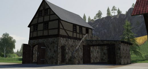 Timberframe House With Shed v 1.0