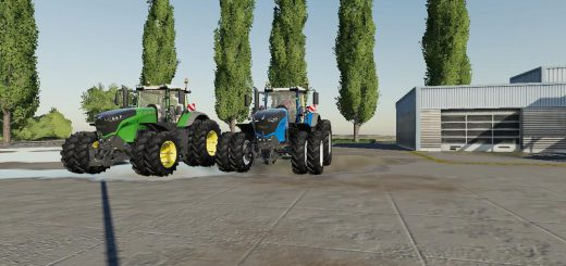 US AGCO Tractor Pack v 1.0