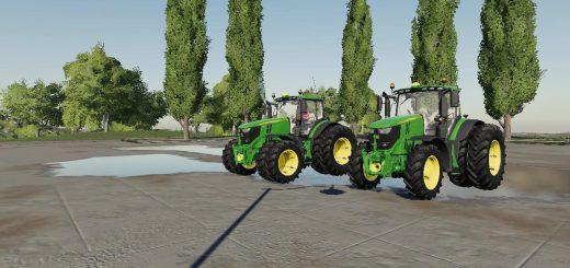 US John Deere tractor pack v 1.0