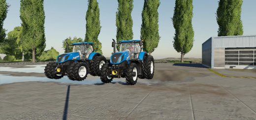 US New Holland Tractor Pack v 1.0