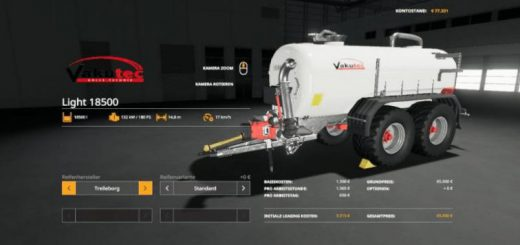 Vakutec Light 18500 Trailer v 1.0