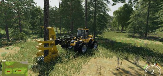 Wheel loader feller buncher v 1.0