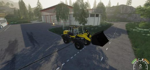 Wheel Loader Shovel 15000L v 1.0