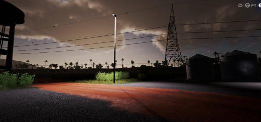 Wooden Yard Light v 1.0