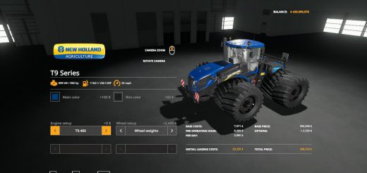 east Newholland T9 Series VE v 1.0