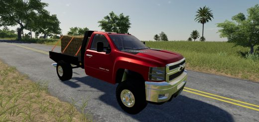 2010 Silverado 2500HD Flatbed v 1.0