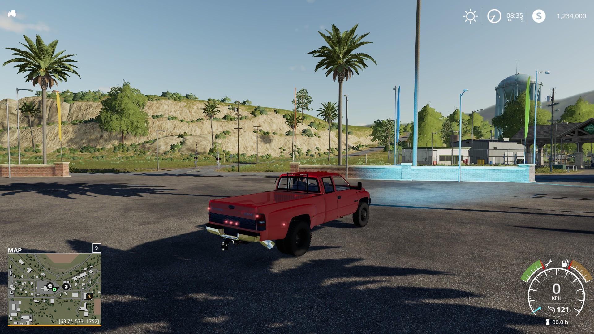 2nd gen Dodge Ram 3500 v 1.0