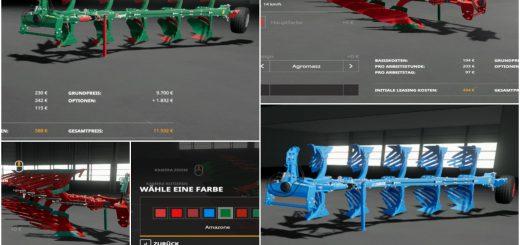 5-Schar Wendepflug-Pack v 1.0