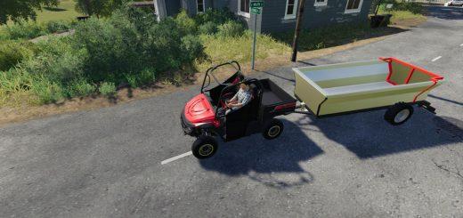 ATV Tipper Trailer v 1.0