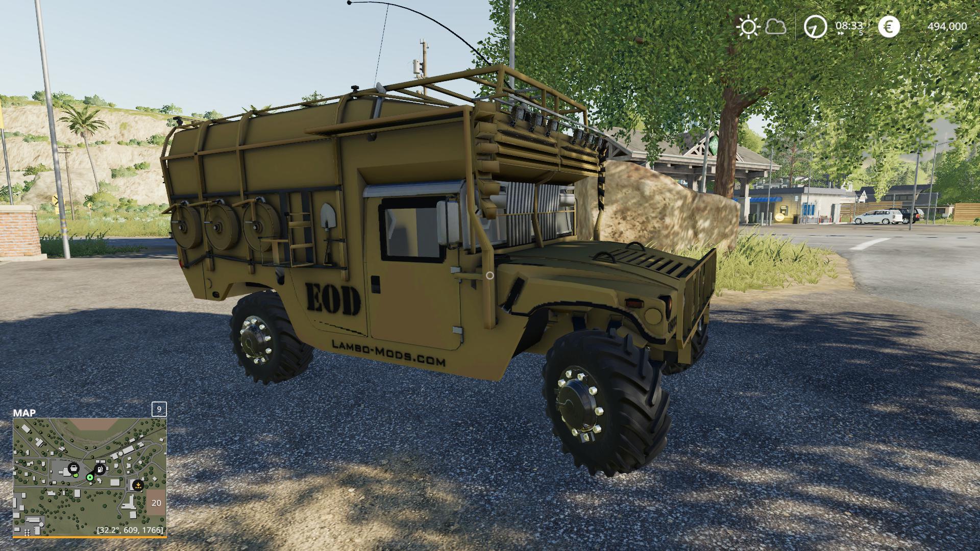 Army humvee v 1.0