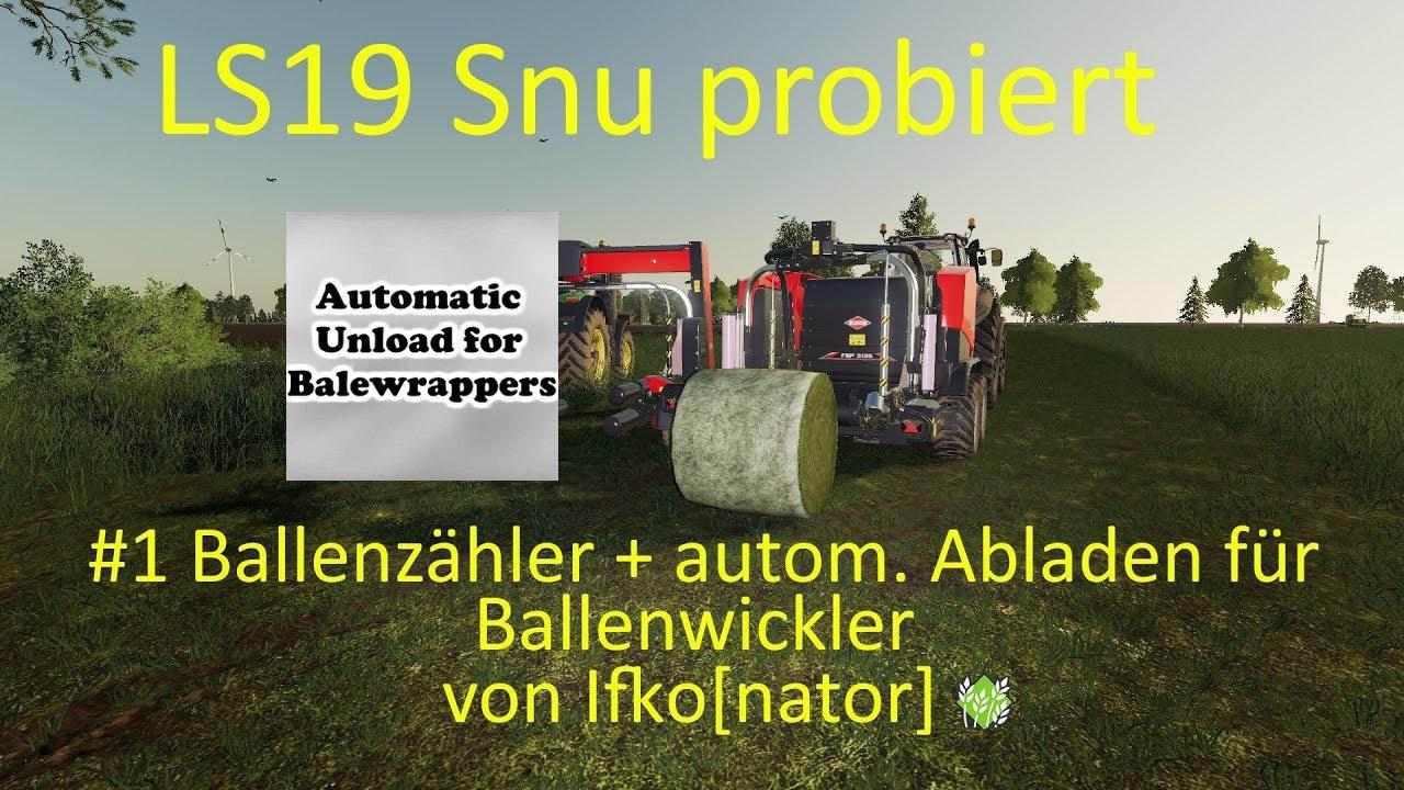 Auto Unload baler v 1.0