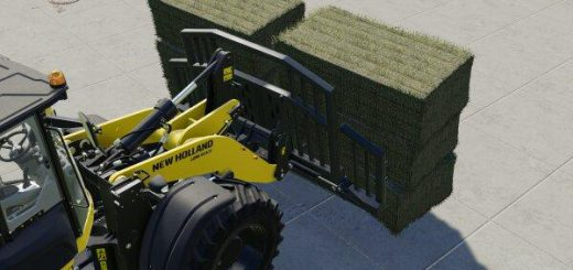 Bale fork for wheel loader v 1.0