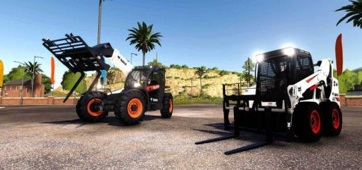 Bobcat 590 and Bobcat SkidSteer v 1.0
