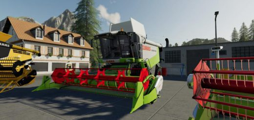 CLAAS MOD PACK v 1.0