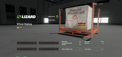 Chicken food 40000 lbs pags v 1.0.0.4