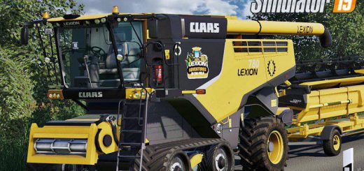 Claas Lexion 700 Series USA Edition v 1.0