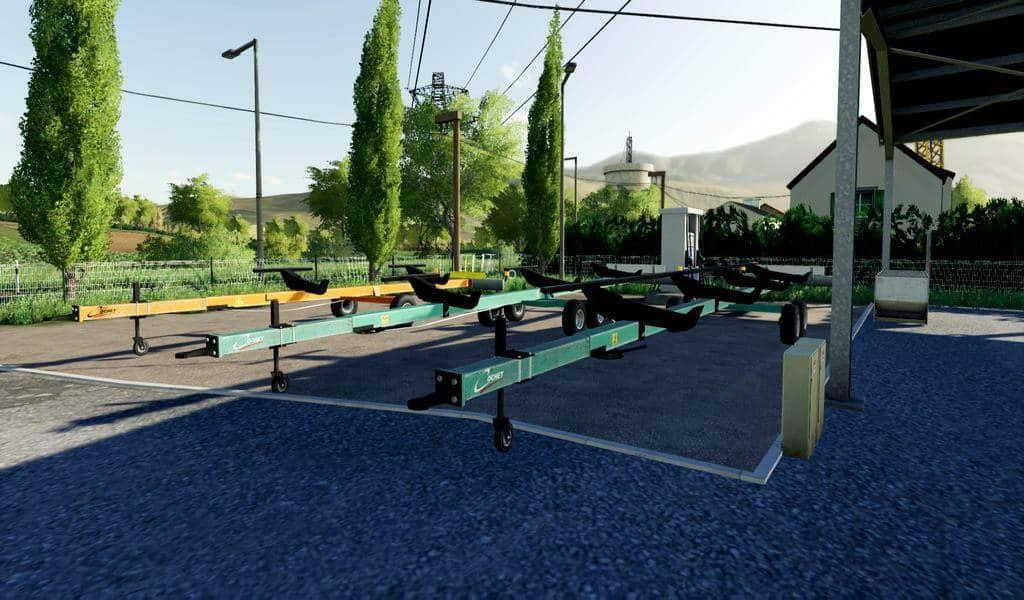 Cutter trailer Cochet FraBel v 1.0