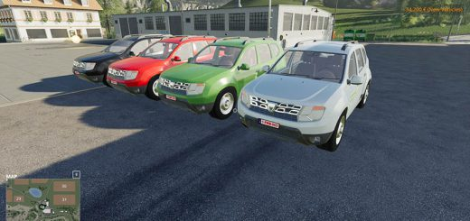 Dacia Duster Groenbedrijf v 1.1