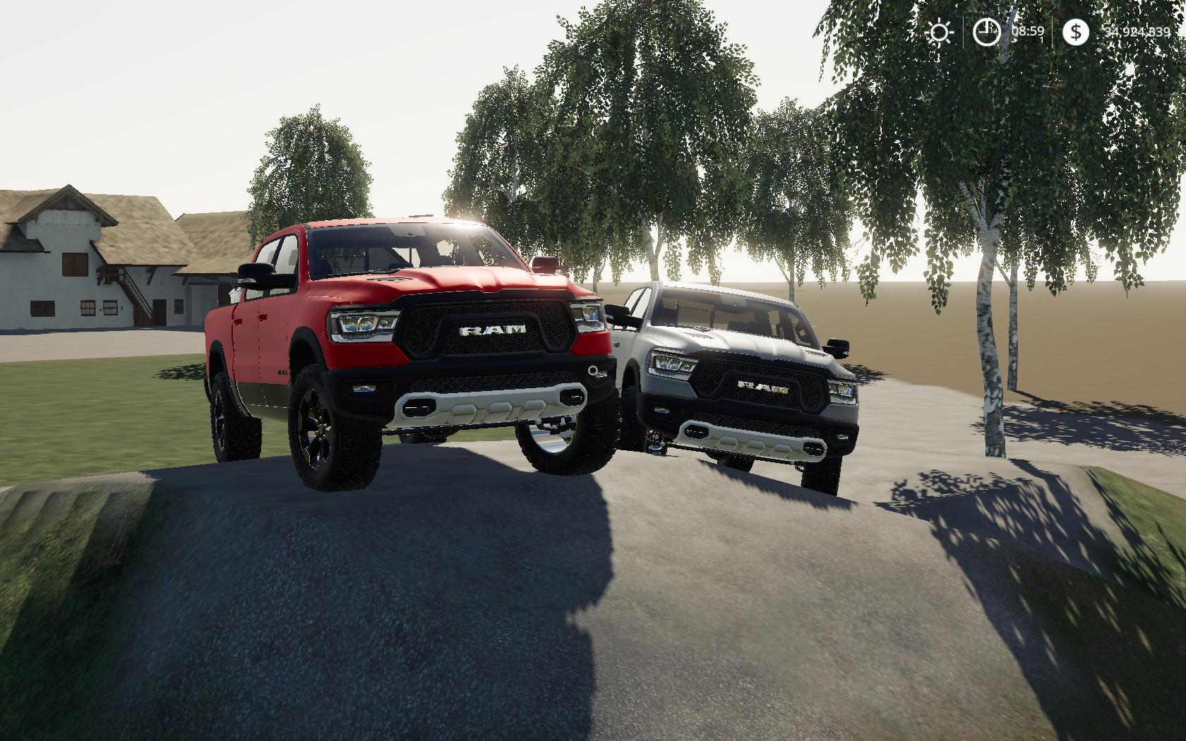 Dodge Ram 1500 Rebel v 1.0