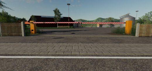 Double barrier v 1.0