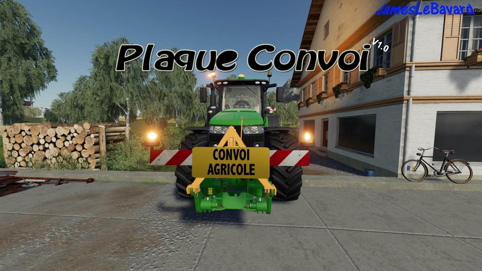Farm Convoy Plate v 1.0