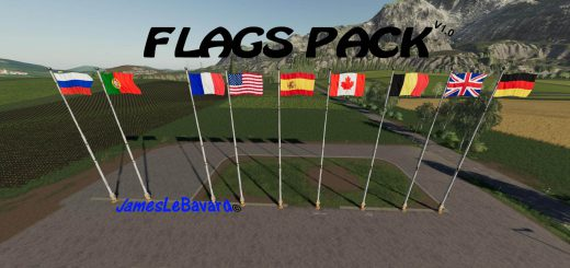 Flags Pack v 1.0