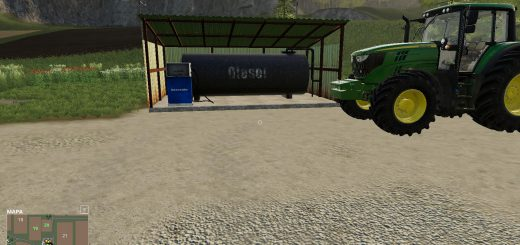 Fuel Tank placeable v 1.0