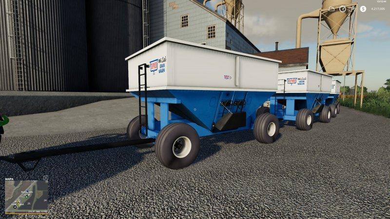 GRAVITY WAGON DMI400 v 1 0 | FS19 mods, Farming simulator 19 mods
