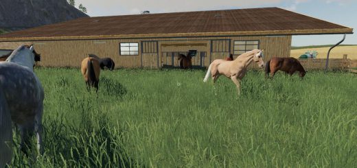 HORSE stable WITH BOXES v 1.0