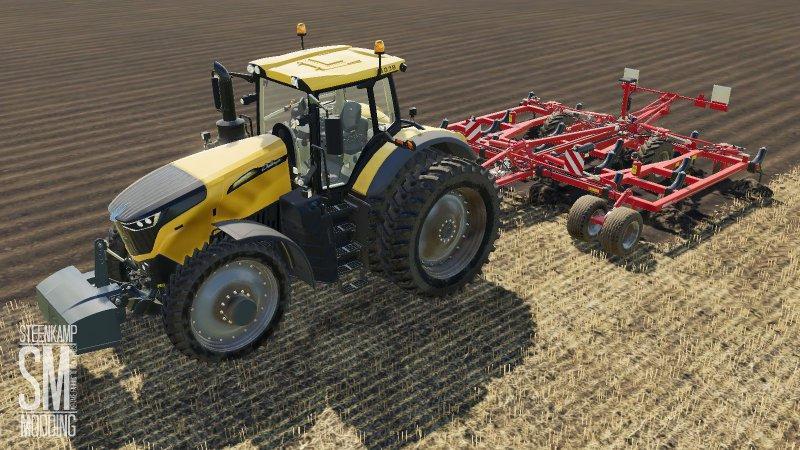 Horsch Tiger 6DT plow version v 1.0